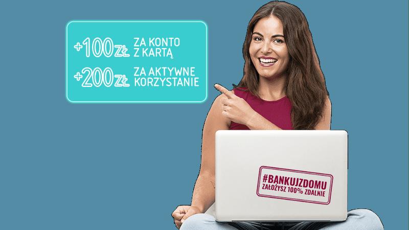 alior bank promocja 300 zł konto