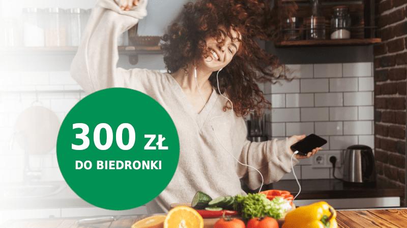 bnp paribas promocja biedronka 300 zł
