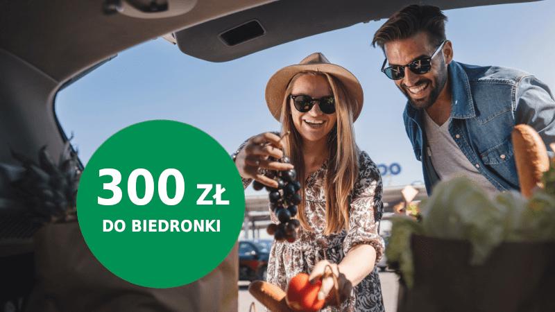 bnp promocja biedronka 300 zł