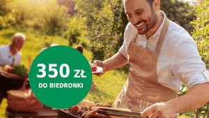bnp paribas promocja biedronka 350 zł