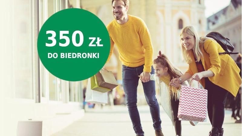 bnp promocja biedronka 350 zł