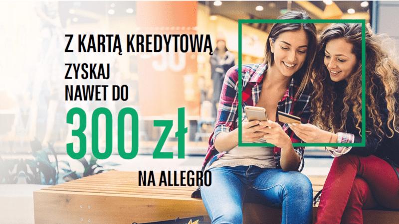 bnp promocja karta kredytowa 300 zł allegro