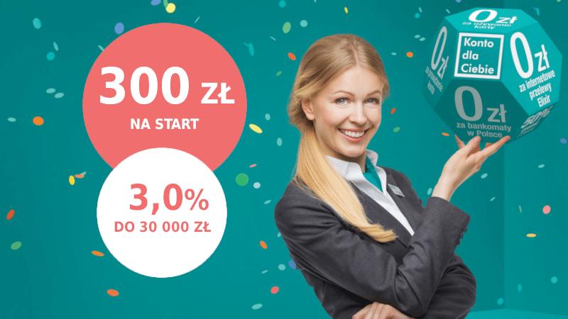 credit agricole promocja 300 zł