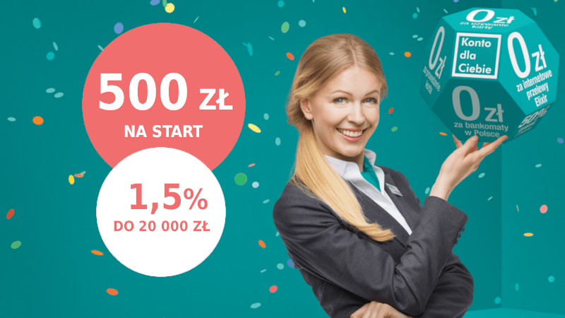 promocja credit agricole 500 zł