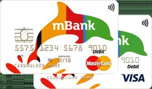 konto mbank karta wygląd