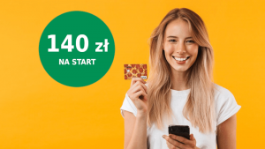 mbank dla młodych promocja 140 zł
