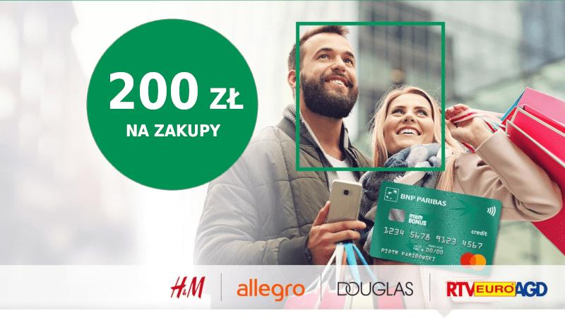 bnp promocja karta kredytowa 200 zł