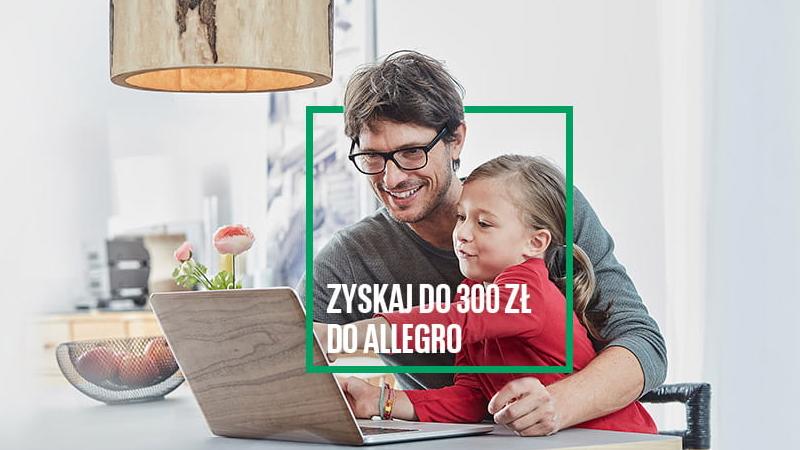 bnp karta kredytowa promocja 300 zł allegro