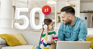 millenium promocja 50 zł dla dla dziecka