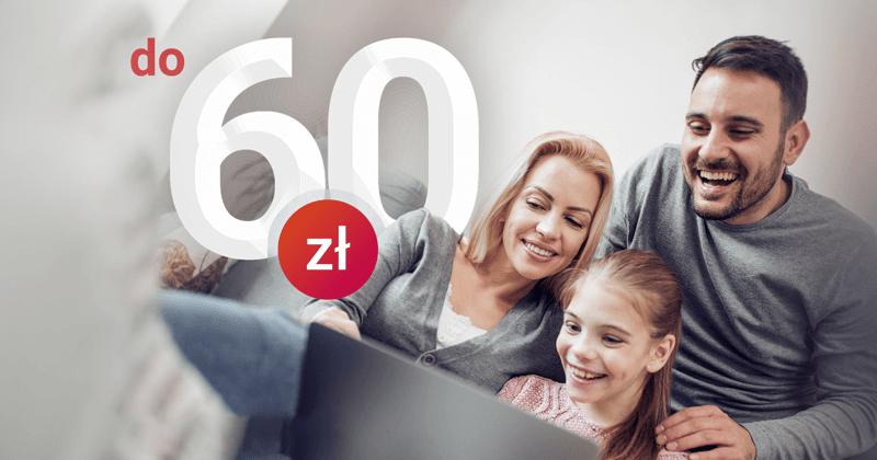 promocja 60 zł dla dziecka millenium