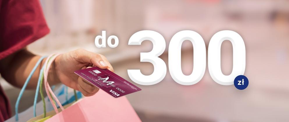 millenium karta kredytowa 300 zł promocja
