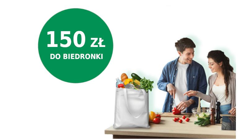 promocja biedronka 150 zł