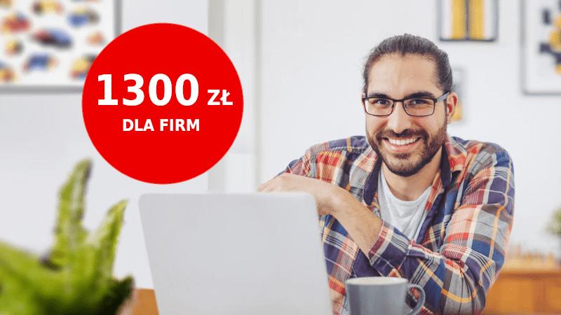 santander promocja dla przedsiębiorców 1300 zł