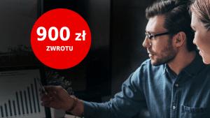 promocja 900 zł santander firmowe