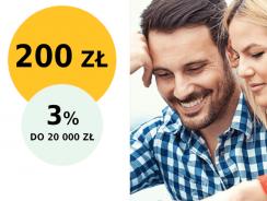 Promocje Alior Banku: 200 zł za założenie konta i 3% na koncie oszczędnościowym