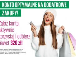 Promocja BGŻ BNP: 320 zł za aktywne korzystnie z konta i karty