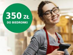 Promocja BNP Paribas: 350 zł do Biedronki za konto (bardzo proste!)