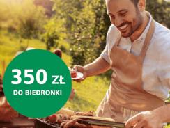 Promocja BNP Paribas: 350 zł do Biedronki za konto