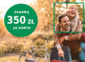 BNP Paribas: 350 zł za założenie konta w promocji Zyskuj Jesienią