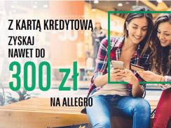 300 zł na Allegro za kartę kredytową BNP Paribas