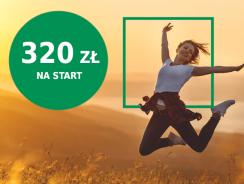 BNP Paribas: 320 zł na start w promocji Konto na plus