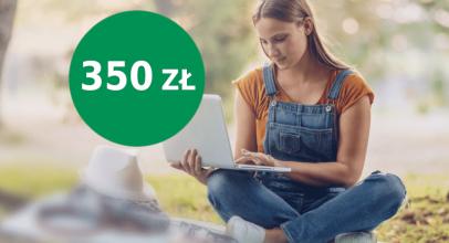 BNP Paribas: 350 zł w gotówce za założenie Konta z kartą Otwartą na eŚwiat