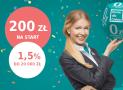 Promocje Credit Agricole: 200 zł premii i 1,5% na koncie oszczędnościowym