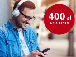 Promocja CitiBank: 400 zł na Allegro za wyrobienie darmowej karty Citi Simplicity