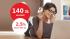 Promocja mBank: 140 zł za założenie eKonta z premią + 2,5% na koncie oszczędnościowym