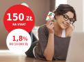 Promocja mBank: 150 zł za założenie eKonta + 1,8% na koncie oszczędnościowym
