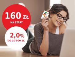 Promocja mBank: 160 zł za założenie eKonta z premią + 2% na koncie oszczędnościowym