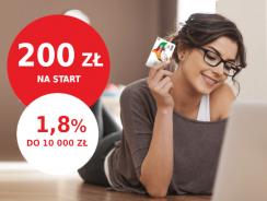 Promocja mBank: 200 zł za założenie eKonta + 1,8% na koncie oszczędnościowym