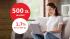 Rekordowe 500 zł w promocji mBanku i 1,7% dla oszczędności