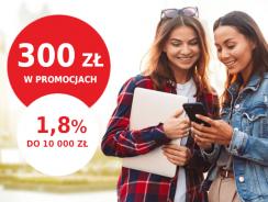 300 zł za założenie ekonta w promocjach mBanku i eBrokera