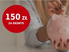 mBank: 150 zł za założenie eKonta Osobistego