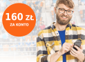 Promocje ING: 160 zł za założenie konta Direct lub Mobi