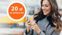 ING: 20 zł za 2 płatności Google Pay