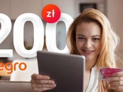 200 zł na Allegro za wyrobienie karty kredytowej Banku Millenium (+ 760 zł zwrotu)