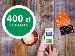 400 zł w bonach na Allegro za kartę kredytową BNP Paribas