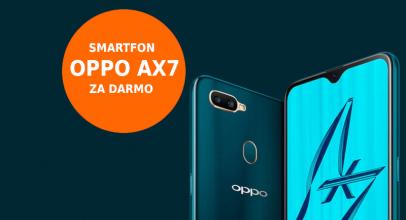 Promocja CitiBank: Smartfon OPPO AX7 (wart 799 zł)  za wyrobienie darmowej karty Citi Simplicity