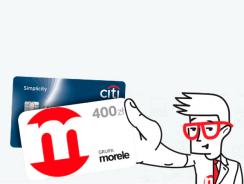 400 zł na zakupy w Morele.net z kartą kredytową Citi