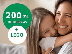 Łatwa promocja BNP Paribas: 200 zł do Douglasa + klocki lego za 40 zł