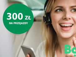 BNP Paribas: premia 300 zł na przejazdy w aplikacji Bolt