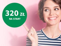 Do 320 zł premii za otwarcie konta osobistego w BNP Paribas