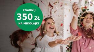 BNP Paribas promocja na mikołajki z premią 350 zł