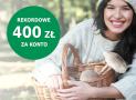 BNP Paribas: rekordowe 400 zł w gotówce za konto osobiste