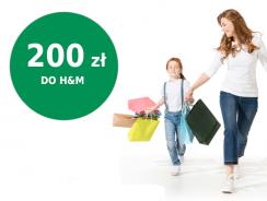 Łatwe 200 zł do sklepów H&M za założenie Konta Otwartego BNP Paribas