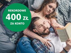 BNP Paribas: rekordowe 400 zł premii za konto osobiste