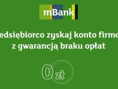mBank promocja dla firm: Konto firmowe darmowe na 2 lata