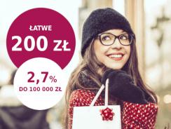 Promocje Millenium: Zgarnij 200 zł na Nowy Rok i 2,7% na koncie oszczędnościowym